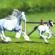 Irish Art, PIPPA AND BLUE,