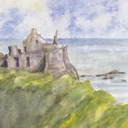 Dunluce Looking East
