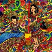 Puteri Santubong and Puteri Sejinjang