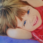 Portrait of Zuri (Blue Eyes)