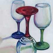 Coloured Glasses 1 (inspired by photo by Finn Hollink)