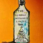 Antique Old Bushmills bottle