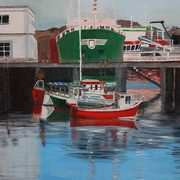 Irish Art, Killybegs Harbour,