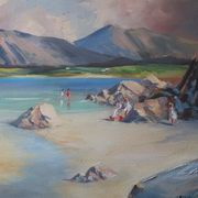 Donegal Beach Scene