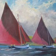 Irish Art, Galway Hookers,