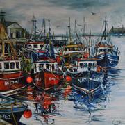 Trawlers At Dunmore