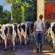 Irish Art, Cattledrive,