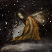 Angel in stars