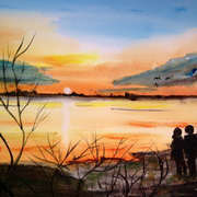 Derravaragh Sunset
