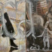 Media Studies, Libya, Diptych