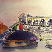 Rialto Bridge,Venice