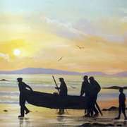 carrying a currach