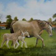 Irish Art, A Painting (Commission) from Photographs,