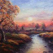Sunset Boglands at Kilbannon