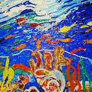Fonds Marins Smalti Mosaic