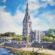 Ballina Cathedral on River Moy