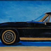 Black Stingray Classic Car