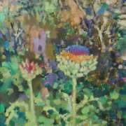 Artichokes in Flower