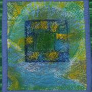 Portal, Textile-Painted