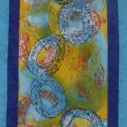 Torus, Textile-Painted