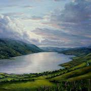 Dusk over the Lakes if Killarney