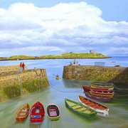 Coliemore Harbour and Dalkey Island