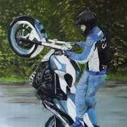 Stunt Rider Mattie Griffin
