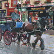 Irish Art, A Trip Through Town,