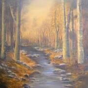 Autumn Wood - Oils - 50 x 70 cms