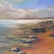 Low tide - oils - 14 x 18 inches