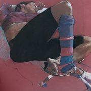 Dancer resting