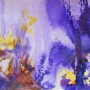 Sunlit Purple Forest