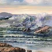 Atlantic Seascape at Bunowen,Connemara