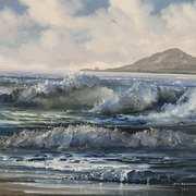 Full Tide Burrow Beach,Dublin