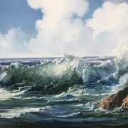 Wild Atlantic at Doonloughin,Connemsra