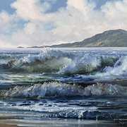 Wild Atlantic near Clifden,Connemara