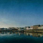 Irish Art, Portrush Harbour,