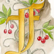Calligraphy Art - F