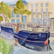Canal Boat Dublin