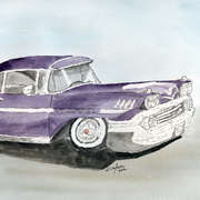 Chevy Impala Lowrider -58