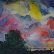 Evening Sky, Spiddal