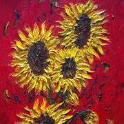 Sunflowers in September