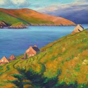 Evening Light on Great Blasket Island