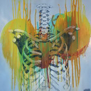 Decay II, Acrylic