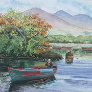 Killarney lake boatman