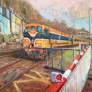 Art 'Two Minutes to Kent Station'