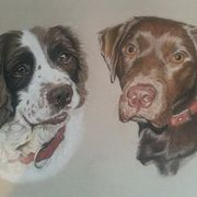 Art 'Peggy and Tilly'