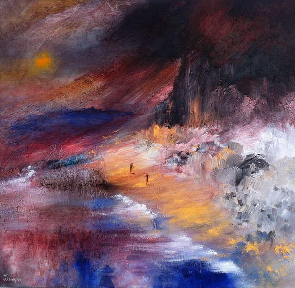 John Jermyn - Irish artist - Cork, Ireland Isolation Artwork