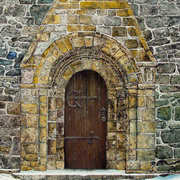 Church door, freshford