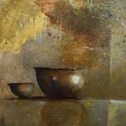 Art 'Copper Bowl'